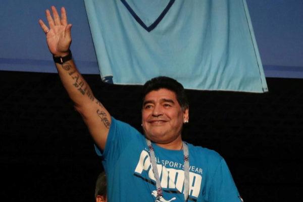 Maradona dirigirá a Gimnasia, el equipo de Cristina Kirchner