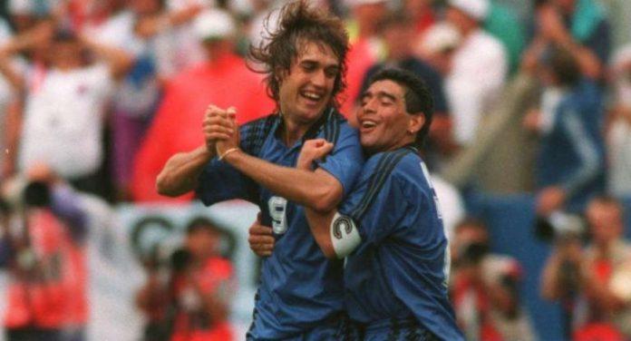 Batistuta rechazó propuesta para formar parte del cuerpo técnico de Maradona
