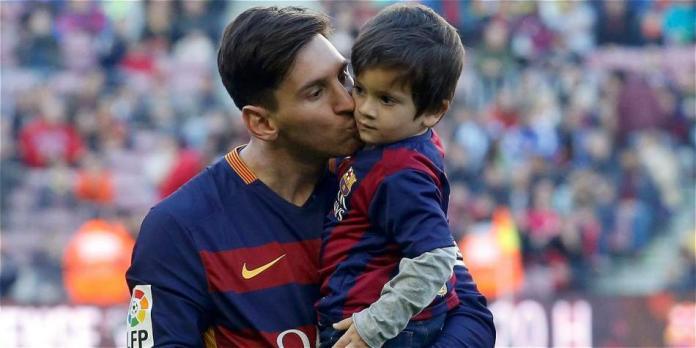 El gol de Thiago Messi conquista las redes sociales