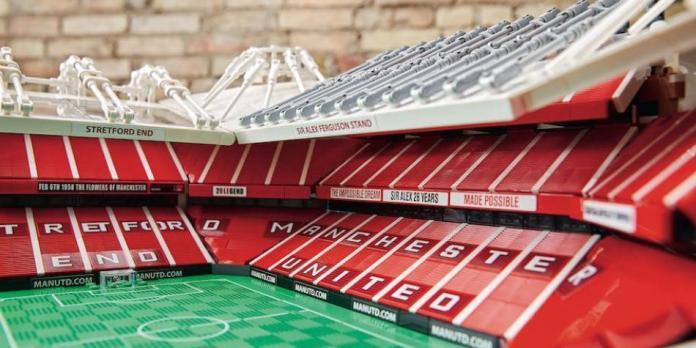 Lego rinde homenaje con réplica del estadio Old Trafford