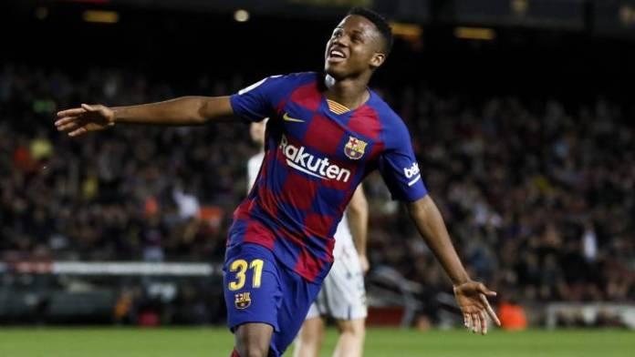 Conexión Messi y Ansu Fati le dan la victoria al Barça 2-1