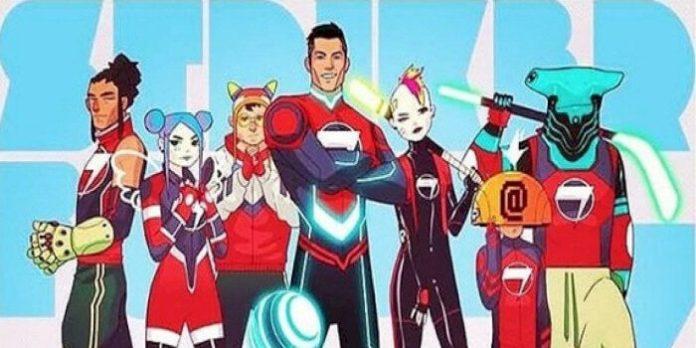 Cristiano Ronaldo se convierte en superhéroe en un cómic