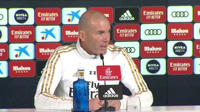 Zidane, sobre jugar a puerta cerrada: