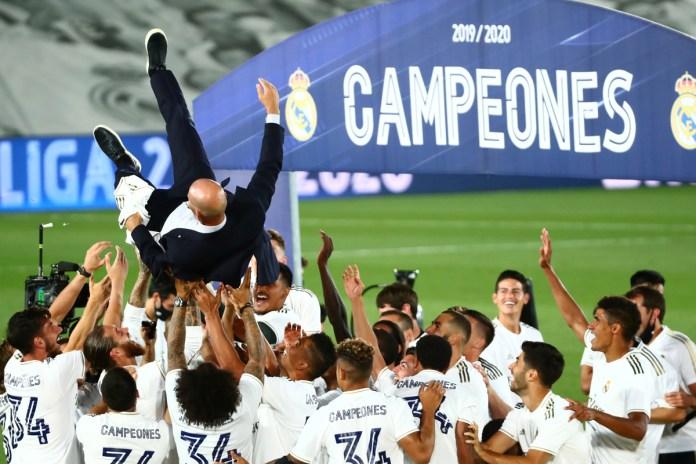 """Zidane: """"Ganar LaLiga es la hostia"""""""
