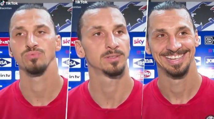 Quiso robarle el balón a Ibrahimovic y terminó humillado