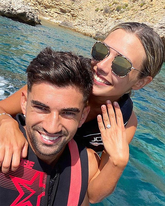 El hijo de Zidane se comprometió con su novia venezolana