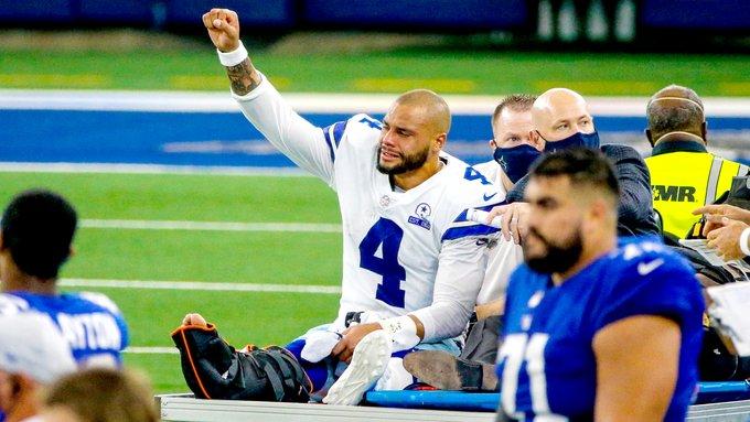 Dak Prescott sufre terrible fractura en victoria de los Cowboys de Dallas