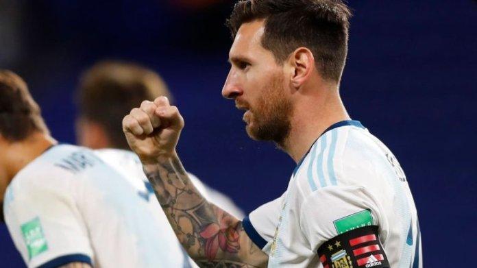 Argentina derrota a Ecuador 1-0