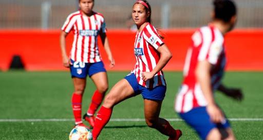 Deyna Castellanos brilla con una asistencia con el Atlético de Madrid