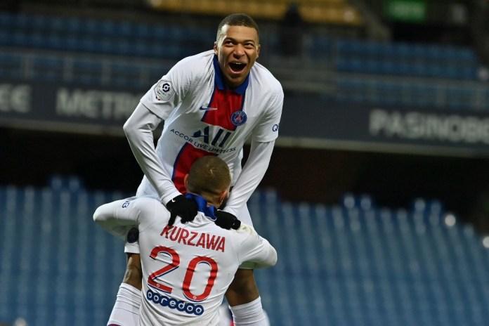 Kylian Mbappé hizo su gol 100 en victoria del PSG