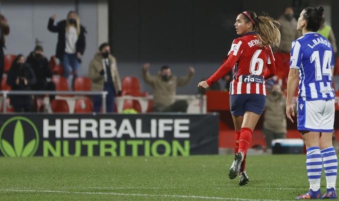 Deyna Castellanos aportó doblete y asistencia para la victoria del Atlético