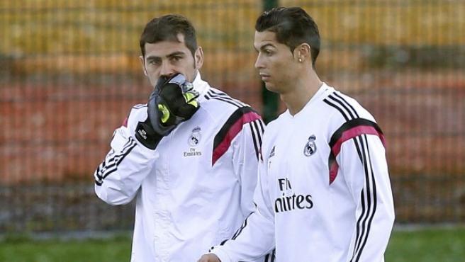 Casillas, a Cristiano Ronaldo: