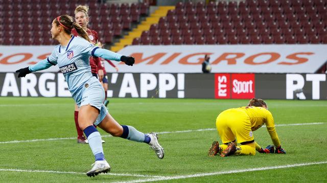 Deyna Castellanos tuvo un estreno soñado en la Champions League Femenina