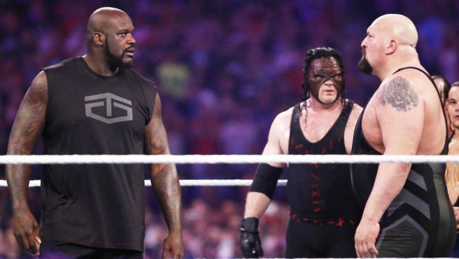 Shaquille O'Neal amenaza con volver a subirse a un ring de lucha libre