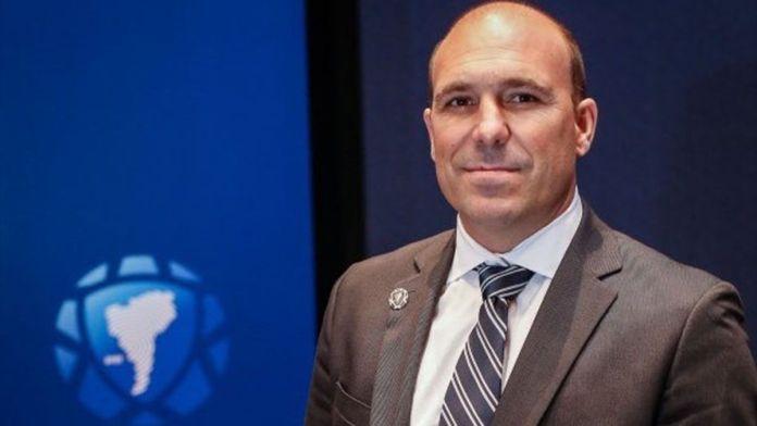 El exfutbolista Gonzalo Belloso, actualmente Director de Desarrollo de la Conmebol