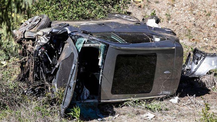 Revelan detalles del terrible accidente de Tiger Woods