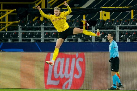 Haaland vuela muy alto y rompe dos registros; Mbappé desplazó a Messi