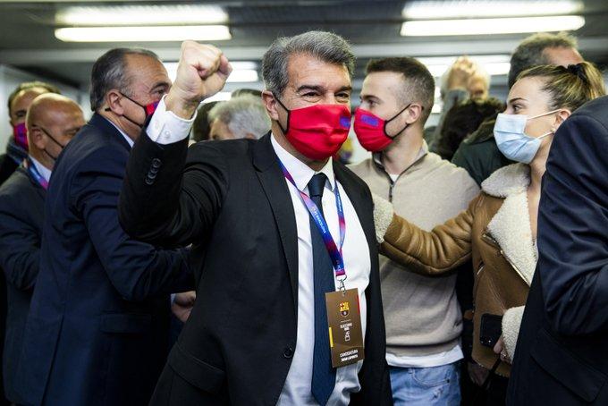 Joan Laporta regresa a la presidencia de FC Barcelona