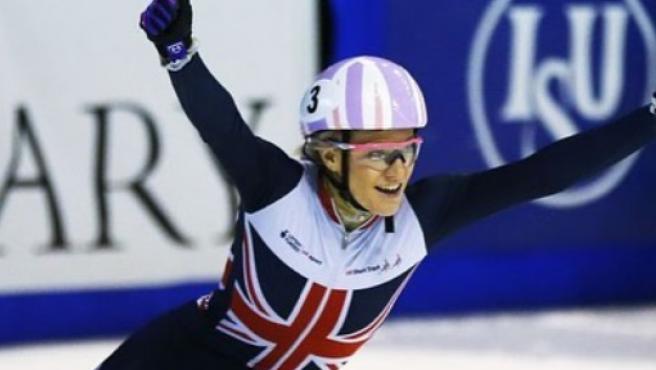La campeona del mundo de patinaje trabaja repartiendo pizzas para poder ir a los Juegos olímpicos