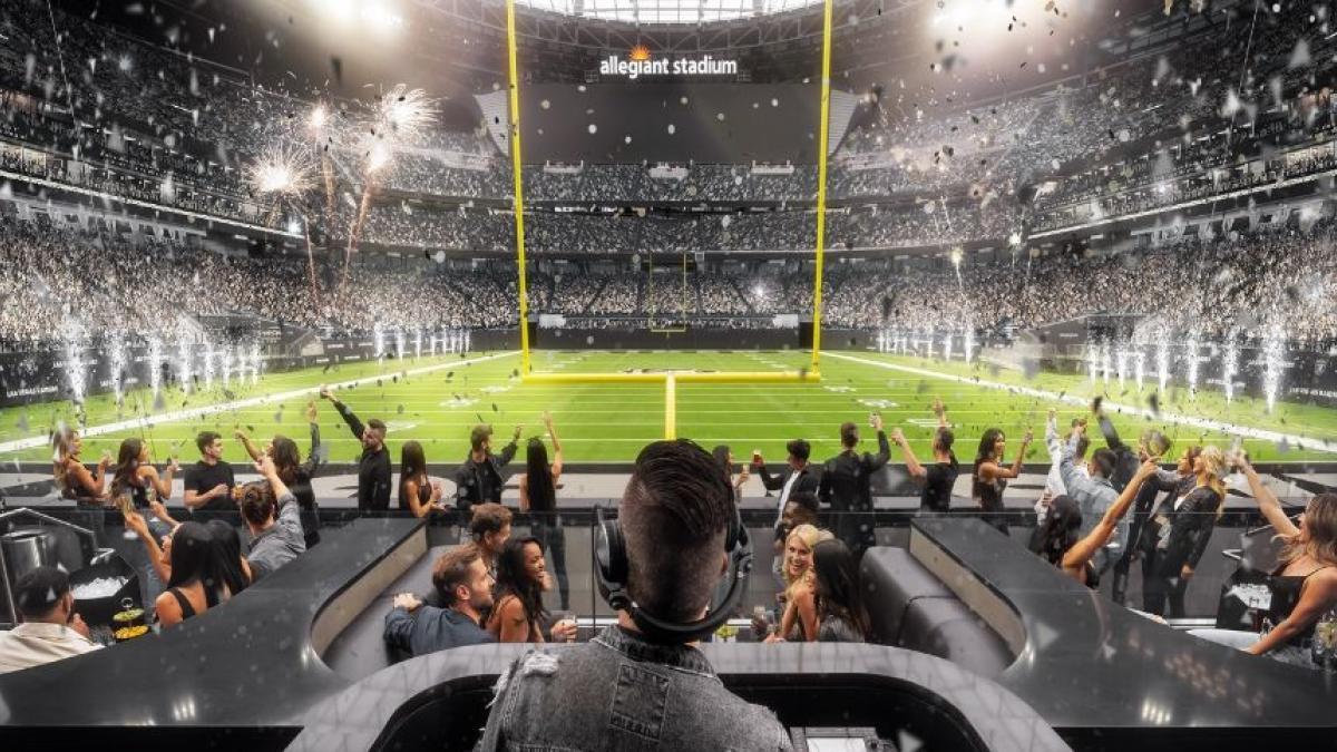 Las Vegas Raiders de la NFL tendrán una discoteca a pie de campo durante sus partidos como locales