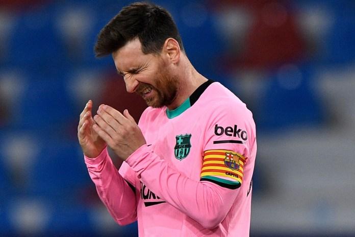 Messi no se entrenará con el Barça hasta que tenga contrato