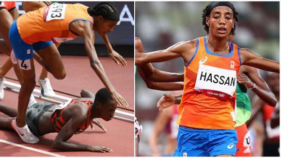 Sifan Hassan: Atleta que sé cayo, remonto y gano los 1500 metros femeninos en Tokio 2020