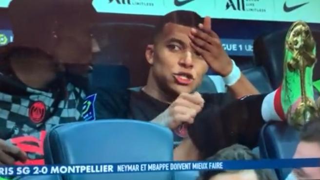 "Captan a Mbappé rajando de Neymar: ""¡Ese vagabundo no me la pasa!"""