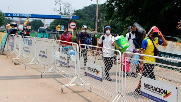 Colombia expulsó a cinco venezolanos por no cumplir la cuarentena