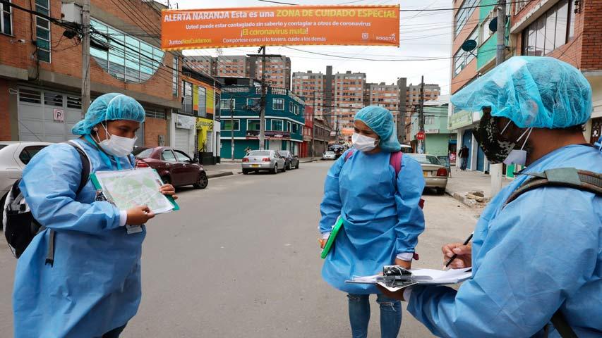 Colombia se acerca a los 22 mil contagios por COVID-19