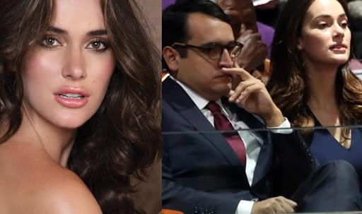 Miss Venezuela confirmó su ruptura con hijo del presidente de México