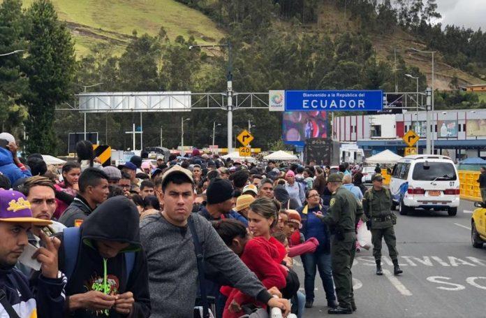 Venezolanos en Ecuador podrán solicitar visa humanitaria hasta el 14 de agosto