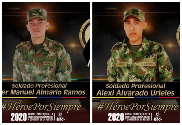 Dos soldados muertos en ataque armado en Tibú