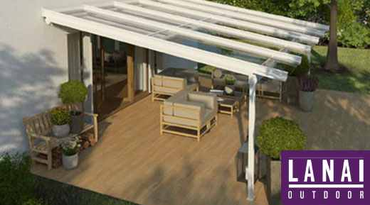 verandas with a glass roof supplied
