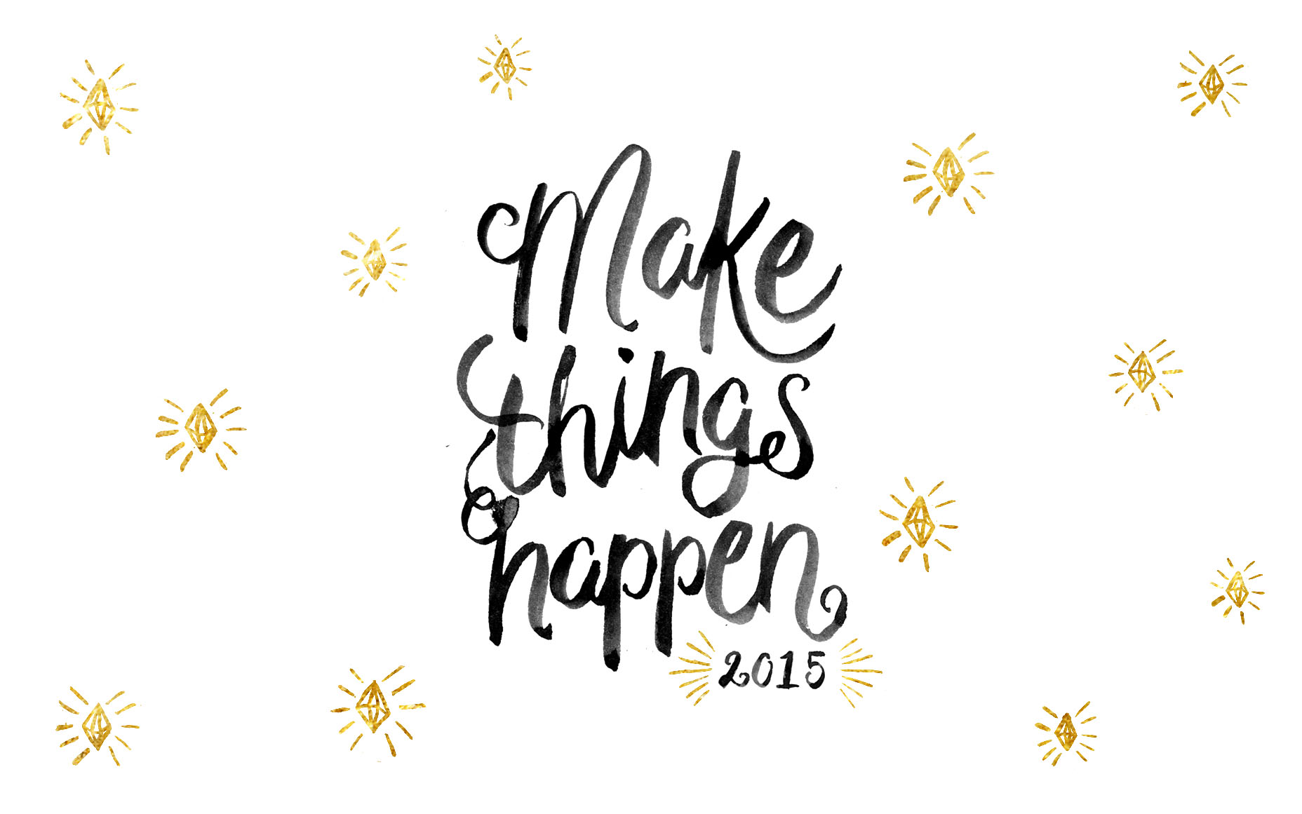 Fall Desktop Wallpaper With Crush Quotes Make Things Happen New Year Freebies Lanalou Style