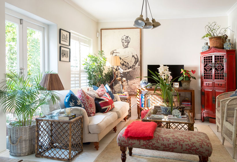 Eastern inspired house tour