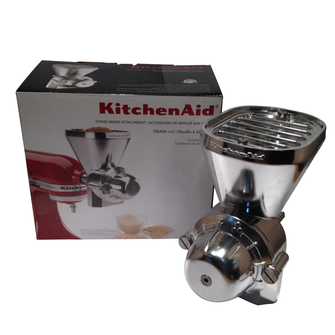 kitchen aid bowls counter organizer kitchenaid stand mixer grain mill attachment kgm w10318099 ...