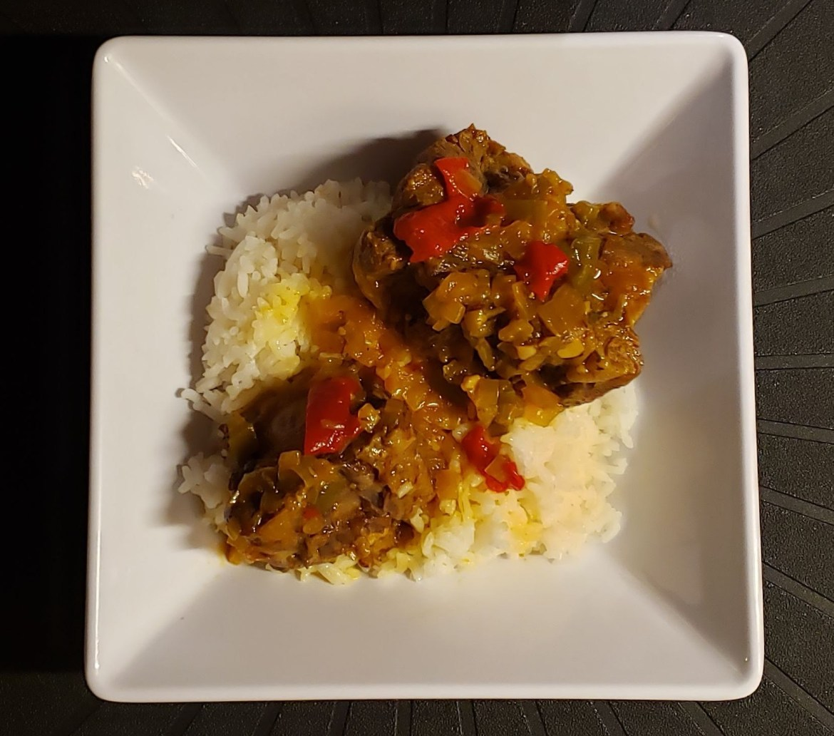 oxtail with rice