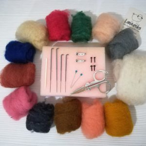 Kit needle felting bogota