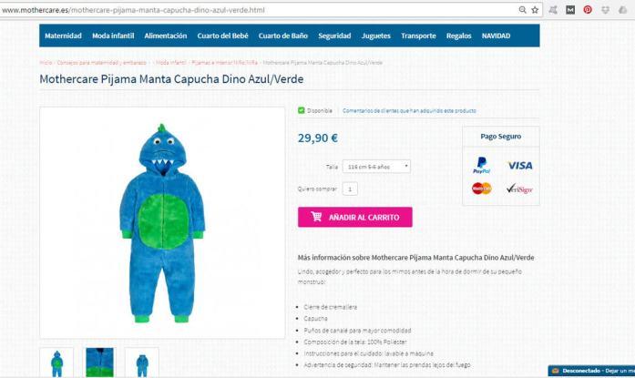 mothercare-pijama
