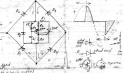 1958 (a) Home made test equipment: Voltmeter, Ammeter