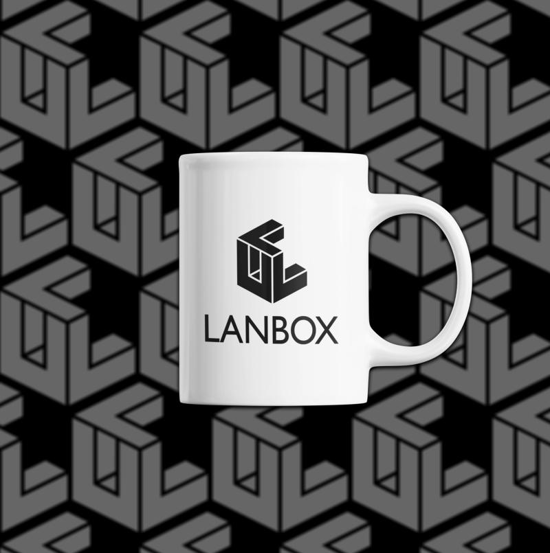 lanbox bögre szöveggel