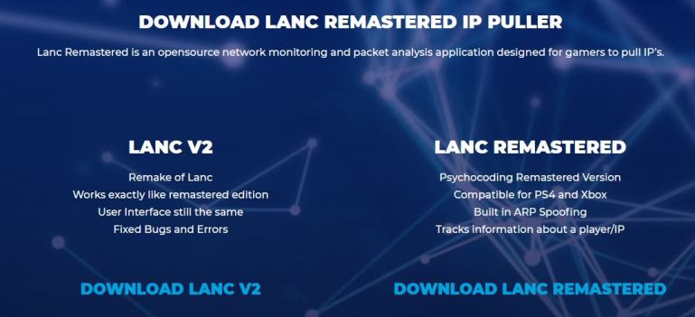 how to download lanc remastered