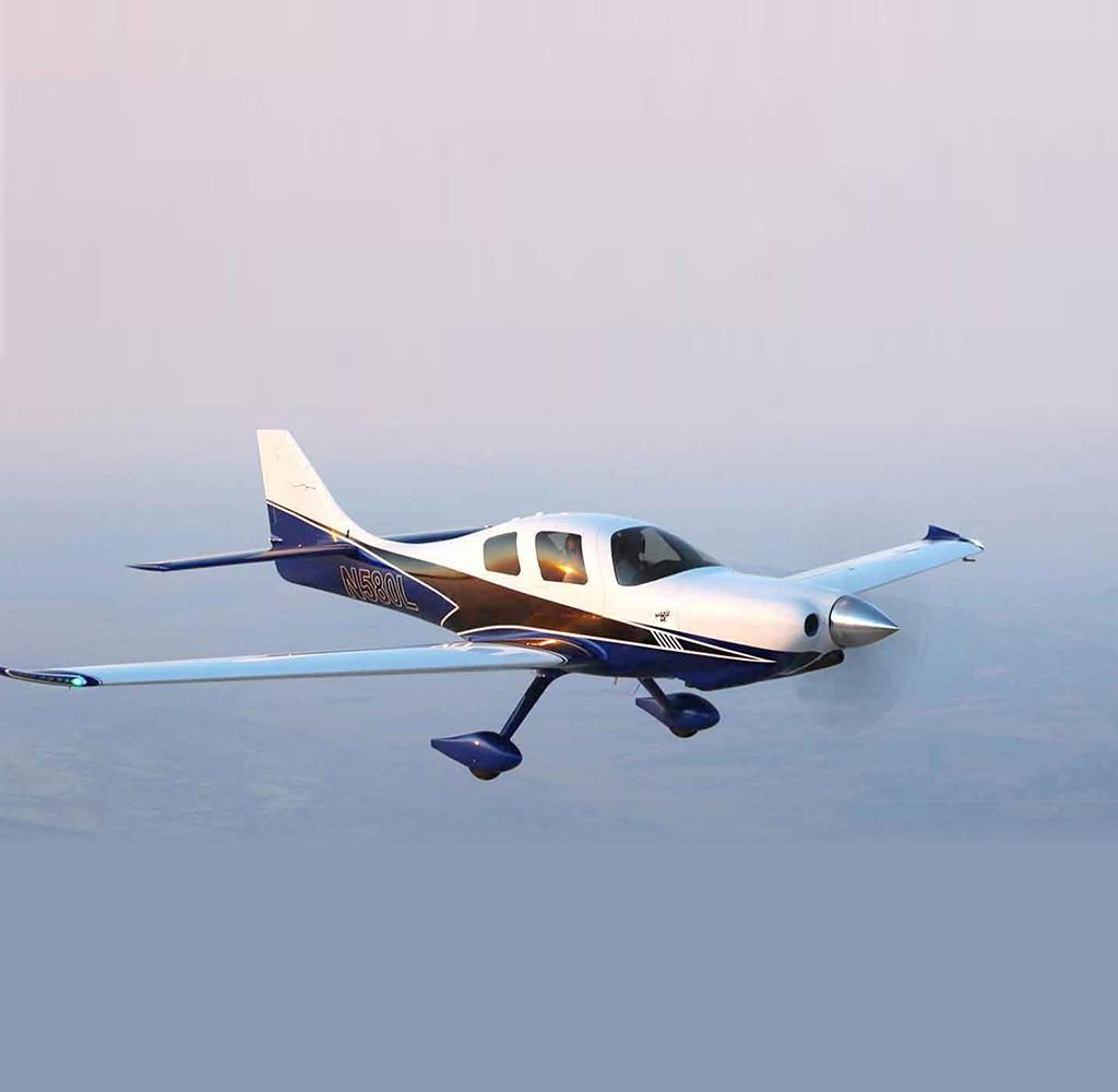 Lancair Mako in flight