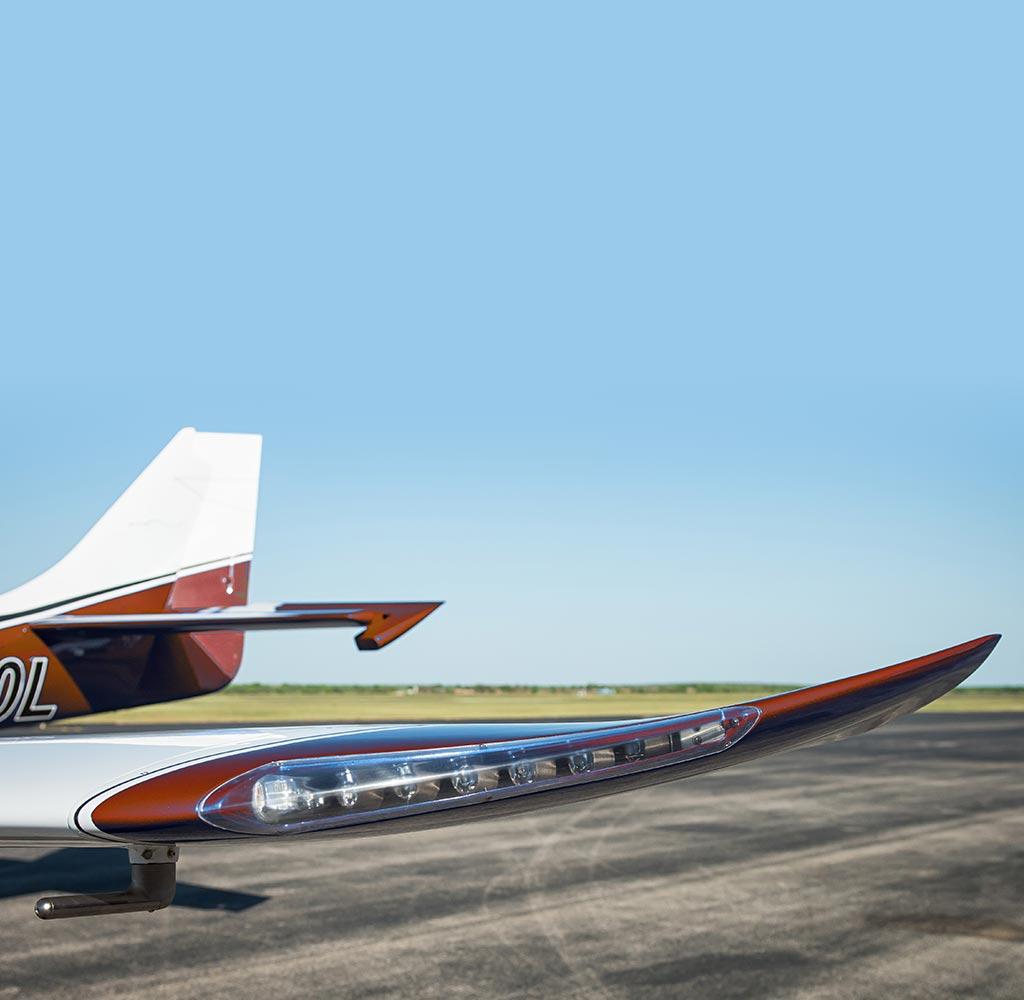 Lancair ES Wingtips Upgrade Kit
