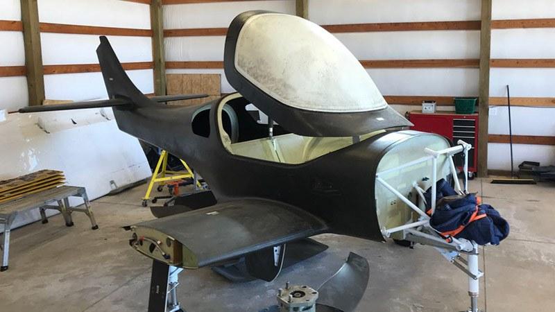 Lancair Barracuda fuselage