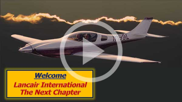 Lancair Presentation with Start Button
