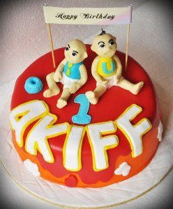 Koleksi Kek Birthday Akiff