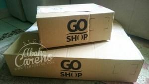 Pengalaman pertama membeli dengan Go Shop