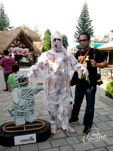 Pesta Halloween di Legoland Malaysia banyak Zombi