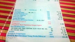Pertama kali bil air rumah melebihi RM100. Punca yang amat dikesali…